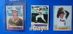 1979 Topps Baseball Complete Set 1-726, Nm-mint Condition. Ozzie Smith Rc