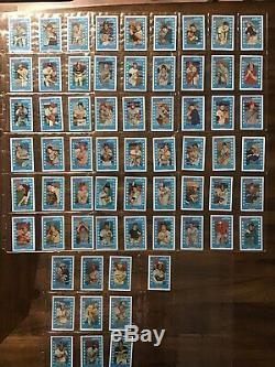1980 1981 1982 1983 KELLOGG'S Baseball Card COMPLETE SETS Mint High Grade