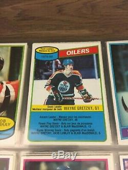 1980 81 OPC O-Pee-Chee Complete set 396/396 Gretzky Messier Gartner Bourque Rc