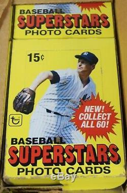 1980 Topps Super Complete Wax Box Case with 24 Sets (60 Cards Each) MHKSETS50