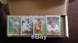 1981 Topps Football Complete Set Montana Monk Clark Rookies 1981 Topps