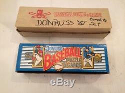 1982 1989 Donruss Baseball Card Complete Sets Nice! Ripken Gwynn Boggs Sandberg
