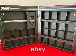 1983 Gi Joe Hasbro Direct Set 100% Complete Uncut Redback File Cards & Case