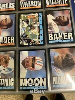 1984 And 1985 Topps Football Complete Sets Marino Elway Dickerson Rookie Card Rc