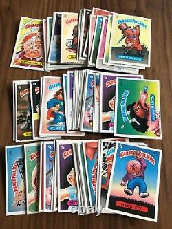 1986 Topps Garbage Pail Kids Original 5th Series 5 OS5 Complete 88-Card Set GPK