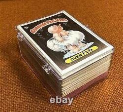 1986 Topps Garbage Pail Kids Original 6th Series 6 Complete 88-Card Set GPK OS6
