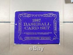 1987 Topps Tiffany Baseball Collector's Edition Factory-Sealed Complete Set