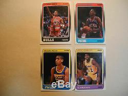 1988-89 Fleer Basketball Complete Set 132 +11 Stickers Michael Jordan Pack Fresh