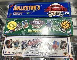1989 90 91 Upper Deck Complete Baseball Card Sets