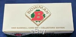 1989 Bowman Tiffany Complete Set Griffey Rookie Fresh