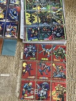 1990 1991 1992 1993 1994 MARVEL UNIVERSE COMPLETE MASTER CARD SETS With BONUS