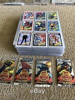 1990 1991 1992 1993 1994 MARVEL UNIVERSE COMPLETE MASTER CARD SETS With BONUS NM