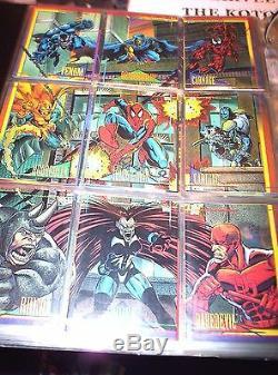 1990, 1991, 1992, 1993, 1994, Marvel Universe Complete 5 Card Sets! Stan Lee