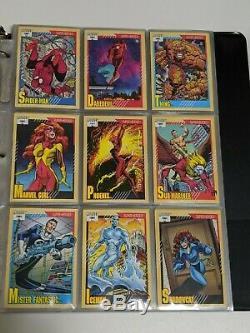 1990,1991,1992,1993 Marvel Universe Complete Card Sets! (4 sets) with holograms