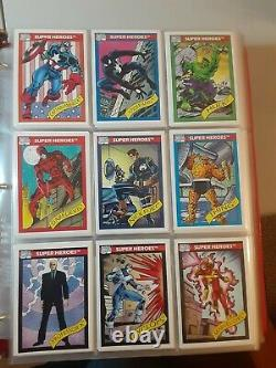 1990 Marvel Universe Series 1 Complete set of 162 cards PERFECT grade-able cards
