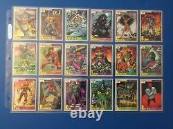 1991 Marvel Universe Series 2 Impel Trading Cards COMPLETE SET #1-162 Base Set