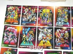 1992 Impel Marvel Universe Series 3 200 Card Complete Set Near Mint To Mint