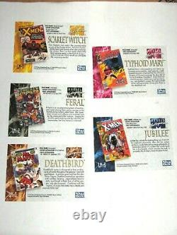 1992 Marvel Masterpieces Series I Lost Cards 5 Chase Insert Complete Set