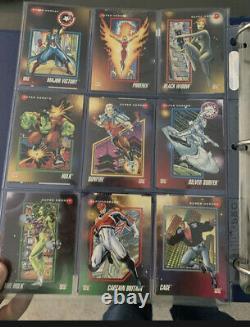 1992 Marvel Universe Series 3 Trading Cards COMPLETE BASE SET, #1-200 SkyBox