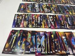 1992 Skybox Marvel Universe Series 3 III Complete 200 Trading Card Base Set