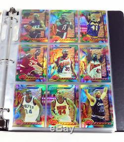 1993-94 Finest Basketball Refractor Complete Set (1-220) Jordan Webber