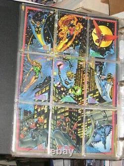 1993 Marvel Universe Series 4 IV Complete 180 Base Card Set! Comics! Avengers