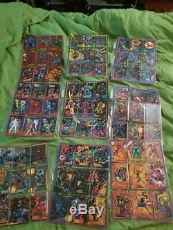 1993 Marvel Xmen Trading cards complete set
