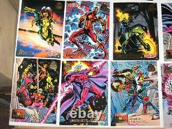 1994 Marvel Universe Series 5 V Complete 200 Base Card Set! Comics! Avengers