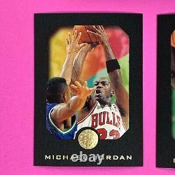 1995-1996 Skybox Exl Basketball Complete Card Set Michael Jordan Kevin Garnett