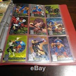 1996 Complete Amalgam card set with CANVAS & POWERBLAST INSERT SETS