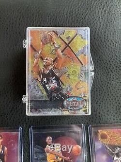 1997-98 Fleer Skybox Metal Universe Complete Set 1-125 Jordan, Kobe, Duncan RC