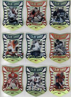 1997/98 Preferred Complete Card Set With Line Of The Times And Color Guard Sets