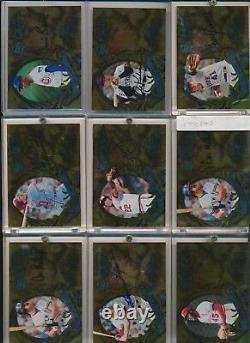 1997 Donruss Significant Signatures HOF Autos 22-Card Complete Set #/2000