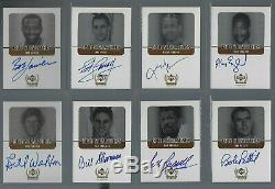1999-00 Upper Deck Century Legends Epic Signatures Auto 31 Card Complete Set