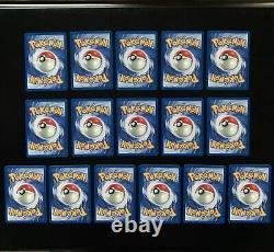 1999-2000 Pokemon Base Set COMPLETE Non Holo 4TH PRINT Edition Cards Lot /102 UK