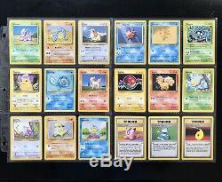1999 Pokemon Base Set COMPLETE Card Lot #1-102 Holo Charizard Blastoise Venusaur