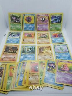 1999 Pokemon Fossil 1st Edition 32 Card Complete Set # 31-62 Pack Fresh