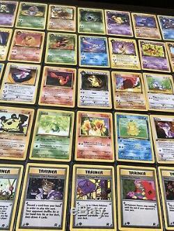 1st Edition Team Rocket Set Pokemon Card Near Complete Mint Pack Fresh 1999-2000
