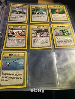 2000 Pokemon WOTC NEO GENESIS Set COMPLETE Uncommon/Common Cards Lot Near Mint