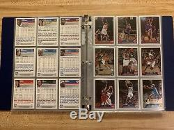 2003-04 Topps Chrome Basketball Complete Set WithO LEBRON JAMES RC 164/165 Cards