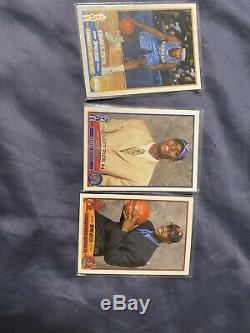 2003 Nba Topps Complete Box Set 265. Lebron James Rookie, Wade/Melo/Bosh Rookies