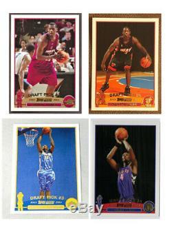 2003 Topps Basketball Factory Sealed Complete Set Lebron Wade Carmelo Bosh Nba