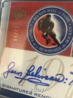 2008/09 Ud Montreal Canadiens Centennial Hof Complete Set 19 Cards Auto And/#