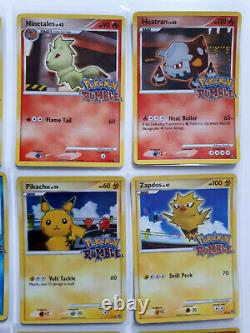 2009 Complete Set Pokemon RUMBLE 16 Cards #1 to #16 Ultra Rare Set VLP/NM -LOOK
