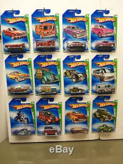 2009 Hot Wheels Super TH Treasure Hunt Set Complete 1-12 All Mint On Cards