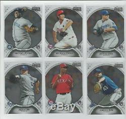 2011 Bowman Sterling Baseball Rookies 1-50 Complete Set Trout Altuve PSA 10