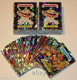 2014 Garbage Pail Kids Chrome 2 Atomic Refractor Set 110 Card Complete Set Rare