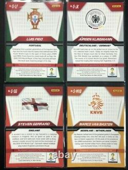2014 Panini Prizm World Cup Complete Set 50 Signatures AUTO Messi Pele C. Ronaldo