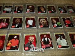 2018-19 Fleer Hanes Michael Jordan 30th Anniversary Red Foil Set Complete 1-50