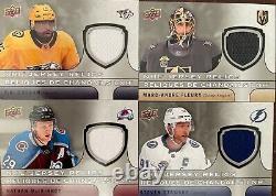 2018-19 UD Tim Hortons Jersey Relics COMPLETE 18 Card Set McDavid Crosby